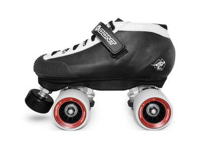 BONT Hybrid Package Skates, Black/White