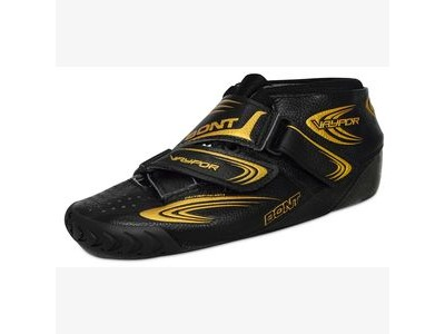 Bont Vapour Leather Boots in Black/Gold