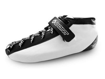 Bont Hybrid Fiberglass Leather White/Black