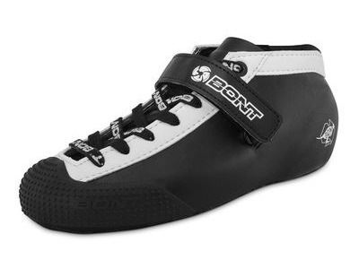 Bont Hybrid Fiberglass Leather Black/White