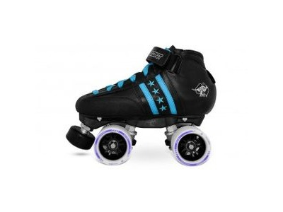 BONT Quadstar Junior Skate Package Blue