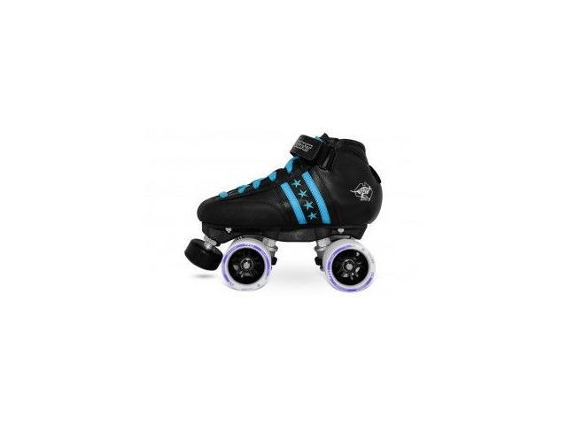 BONT Quadstar Junior Skate Package Blue click to zoom image