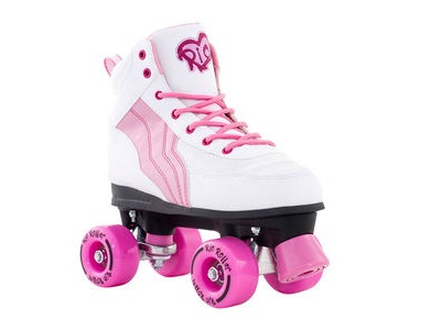 RIO ROLLER Pure White/Pink Skates
