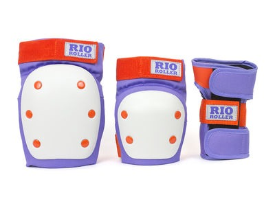 RIO ROLLER Triple Pad Set Purple/Orange