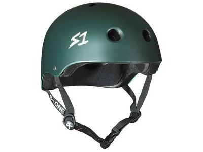 S1 Lifer Green Matt Helmet
