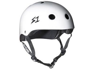 S1 Mega Lifer Helmet White Gloss