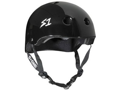 S1 Mega Lifer Helmet Black Gloss