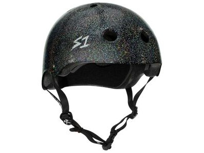 S1 Mega Lifer Helmet Black Glitter