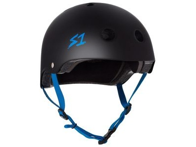 S1 Lifer Helmet Black Matt inc Cycan Strap