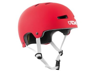 TSG Evolution Satin Red Helmet