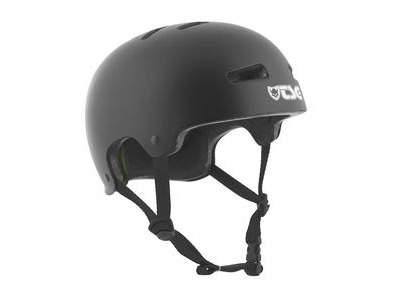 TSG Evolution Satin Black Helmet