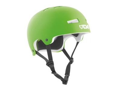 TSG Evolution Satin Lime Green Helmet