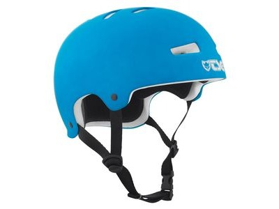 TSG Evolution Satin Cyan Helmet