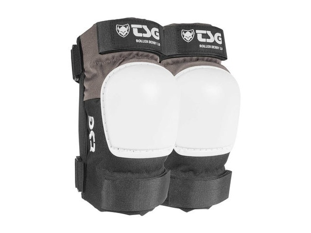 TSG Roller Derby 3.0 Elbow Pads, Coal/Black click to zoom image