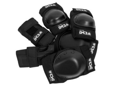 TSG Basic Pad Set Black
