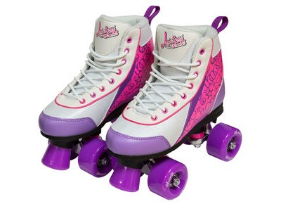 Luscious Skates Purple Punch Rollerskates