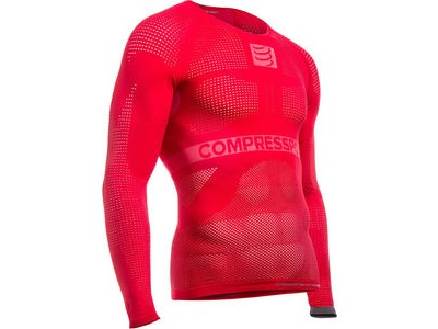 COMPRESSPORT On/Off Multisport LS Top - Red