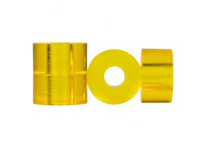 CLOUDS URETHANE Bushings, Barrel, (Pack of 4) 85a Yellow  click to zoom image