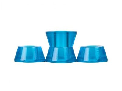 CLOUDS URETHANE Bushings, Conical, (Pack of 4) 93a Blue  click to zoom image
