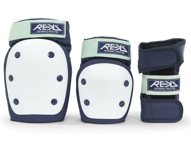 REKD Heavy Duty Triple Pad Set Blue/Mint click to zoom image
