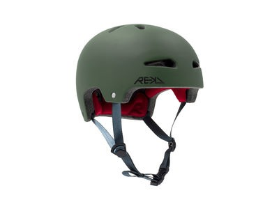 REKD Ultralite In-Mold Green Helmet