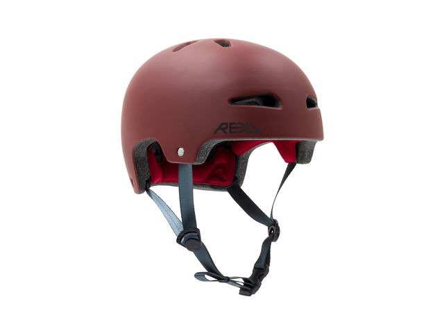 REKD Ultralite In-Mold Red Helmet click to zoom image