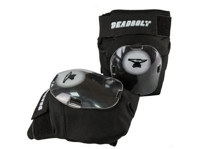 DEADBOLT Grand Slam Knee pads Black