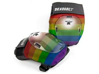 DEADBOLT Grand Slam Knee Pads Rainbow