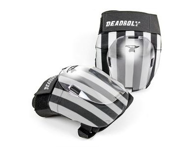 DEADBOLT Grand Slam Knee Pads Zebra