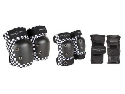PRO-TEC Street Gear Junior 3 Pack Checker
