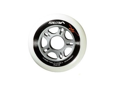 SEBA CW Wheels White/Black