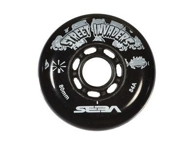 SEBA Street Invader Wheels Black