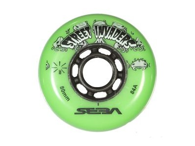 SEBA Street Invader Wheels Green