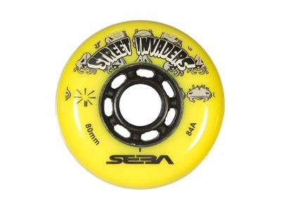 SEBA Street Invader Wheels Yellow