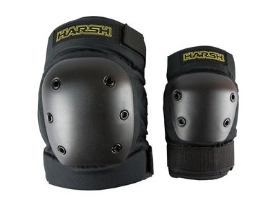 HARSH Pro Park Knee and Elbow Pad Set click to zoom image