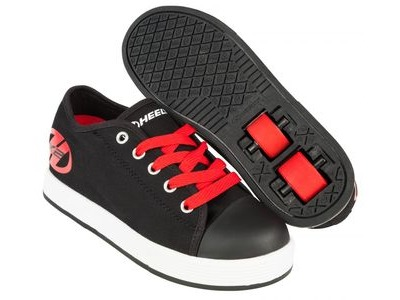 HEELYS Fresh Black/Red