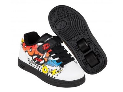 HEELYS Dual Up White/Black/Comic