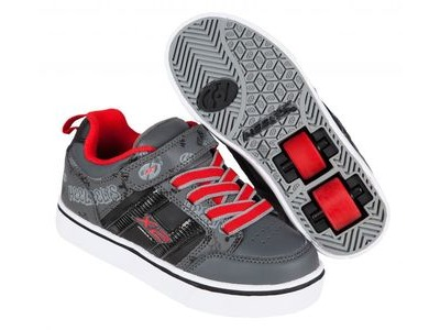 HEELYS Bolt Black/Grey/Red