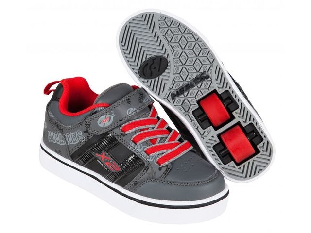 HEELYS Bolt Black/Grey/Red click to zoom image