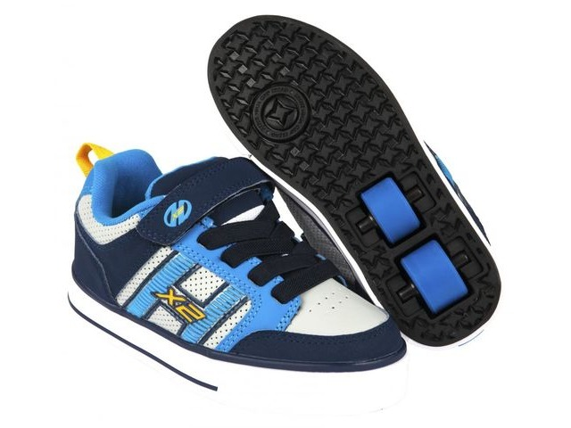HEELYS Bolt Plus Blue/Luner Grey click to zoom image