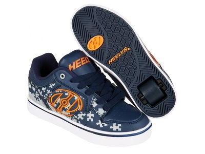 HEELYS Motion Plus Navy/Grey/Orange