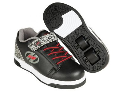 HEELYS Dual Up Black/Grey/Elephant
