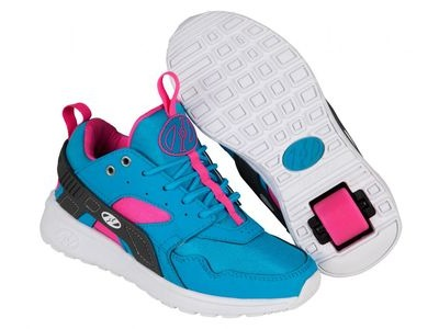 HEELYS Force Aqua/Grey/Pink