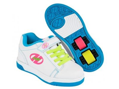 HEELYS Dual Up White/Neon/Multi