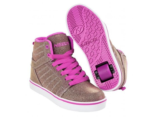 HEELYS Uptown Gold/Purple/Colourshift click to zoom image