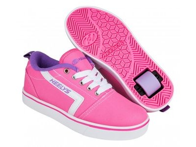 HEELYS GR8 Pro Pink/ White/ Lilac