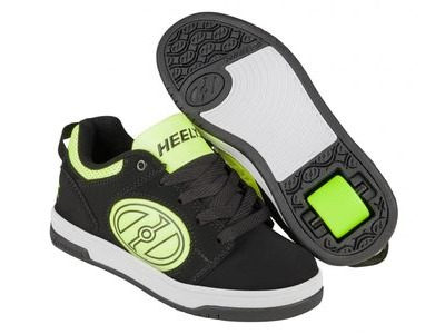 HEELYS Voyager Black/Bright Yellow G.I.D