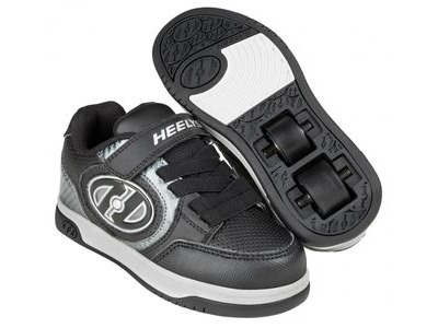 HEELYS Plus Lighted Black/Carbon