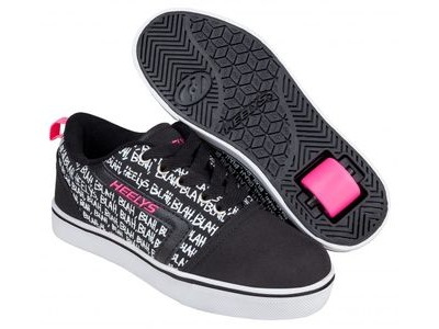 HEELYS GR8 Pro Prints Black/Hot Pink/Blah
