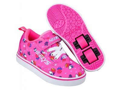 HEELYS Pro 20 X2 Pink/Hot Pink Unicorns